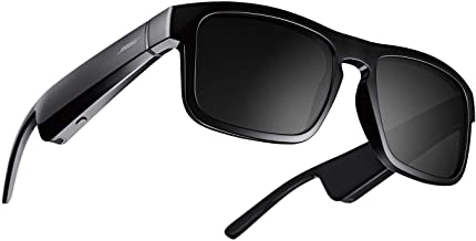 Bose Frames Tenor - Gafas de sol polarizadas rectangulares con Bluetooth, color negro