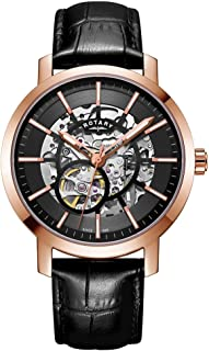 Mens Greenwich G2 Automatic Skeleton Dial Rose Gold Tone GS05354/04