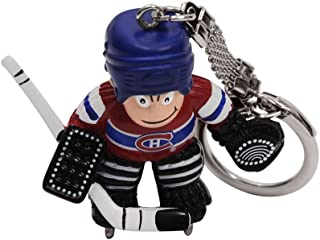 NHL Montreal Canadiens Goalie Keychain