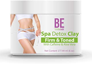 Brazilian Spa Detox Body Clay for Inch Loss Body Wraps, Detox & Cleanse -Rejuvenate and Improves Skin Texture- All Natural Ingredients - 6 oz