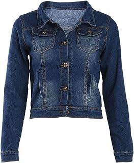 Jeans Jacket For Women Blue Slim Jeans Jacket