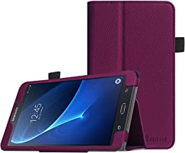 Fintie Folio Case for Samsung Galaxy Tab A 7.0 - Premium Vegan Leather Slim Fit Folio Stand Cover for Samsung Galaxy Tab A 7.0 Tablet 2016 Release (SM-T280/SM-T285), Purple