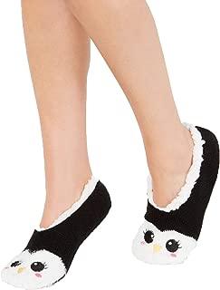 Charter Club Women's Penguin Slipper Socks, Black