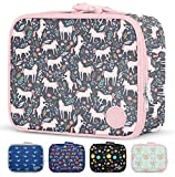 Simple Modern Kids Lunch Box-Insulated Reusable Meal Container Bag for Girls, Boys, Women, Men, Small Hadley, Unicorn Fields