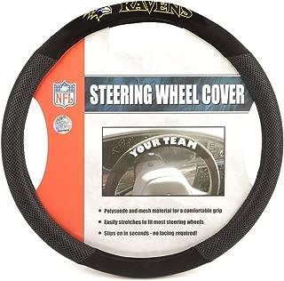ravens steering wheel cover