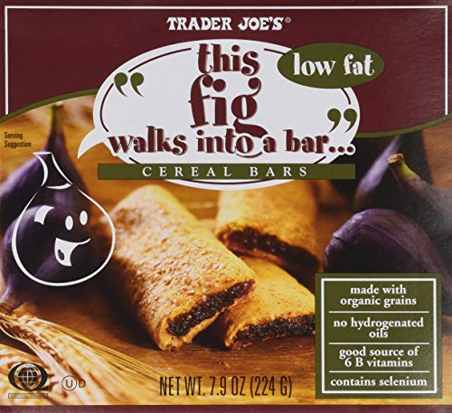 2 Boxes Trader Joe's Fig Cereal Bars total 12 bars