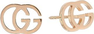 Gucci Womens Running G Stud Earrings