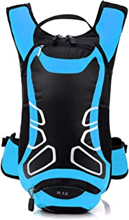 Bolsa de mochila impermeable de 12 litros para ciclismo, al aire libre, deportes [Azul]