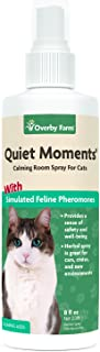 Overby Farm Quiet Moments Calming Room Spray for Cats, 236 ml