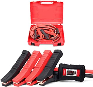 3000A Jumper Leads 6M Digital Display Surge Protection Jump Start Cable Kit