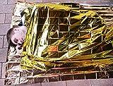 Rettungsdecke Extragroß Größe: 1,6 m x 2,1 m -