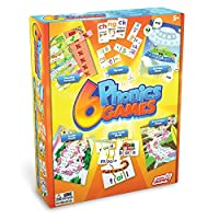Junior Learning Different Phonics Games (Set of 6) [並行輸入品]
