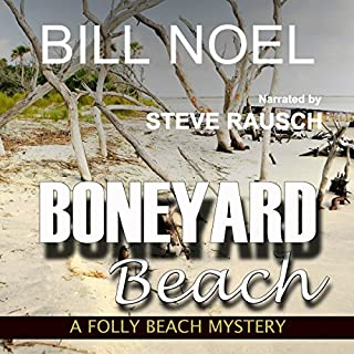 Boneyard Beach audiobook cover art