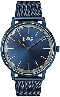 HUGO Reloj Analógico de Cuarzo con Correa en Acero Inoxidable 1520011