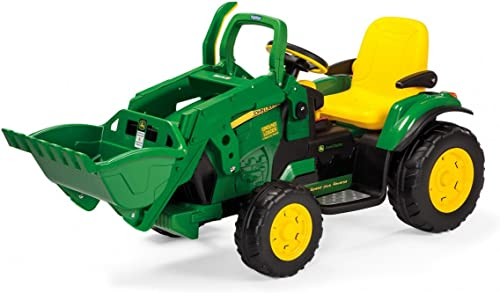 venta con descuento Peg Perego excavadora 12V 12V 12V IGOR0068 Vehículo Eléctrico Infantil  marca de lujo