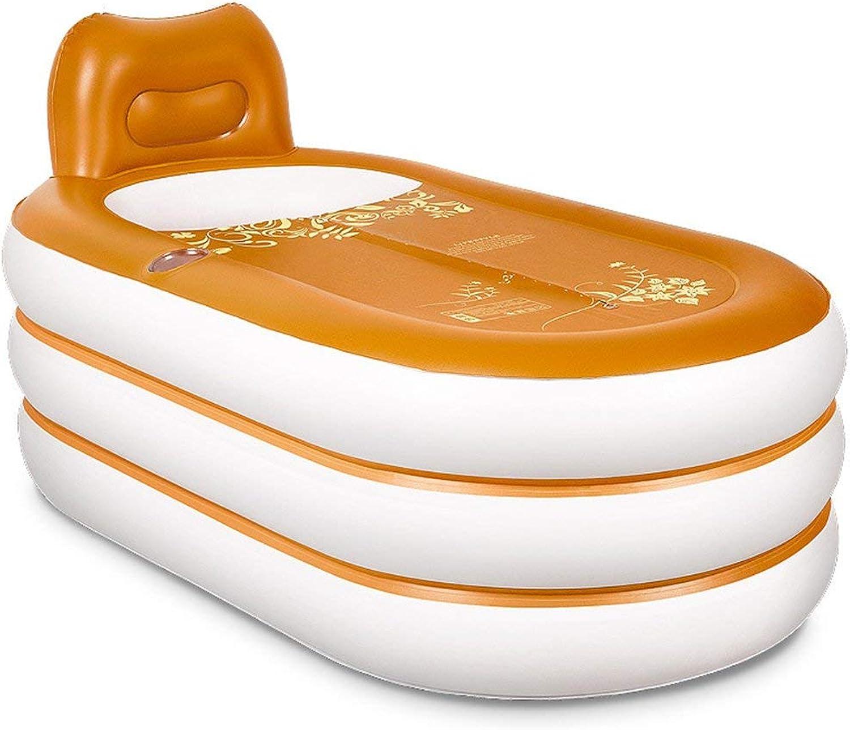 GFF Brown portable 160  92  75cm pvc thick brown adult inflatable tub tub portable