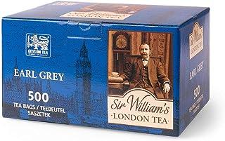 "SIR WILLIAM""S LONDON TEA Earl Grey Tea - Beuteltee Schwarzer Tee, 500 Stk. Teebeutel je 1,8 g"