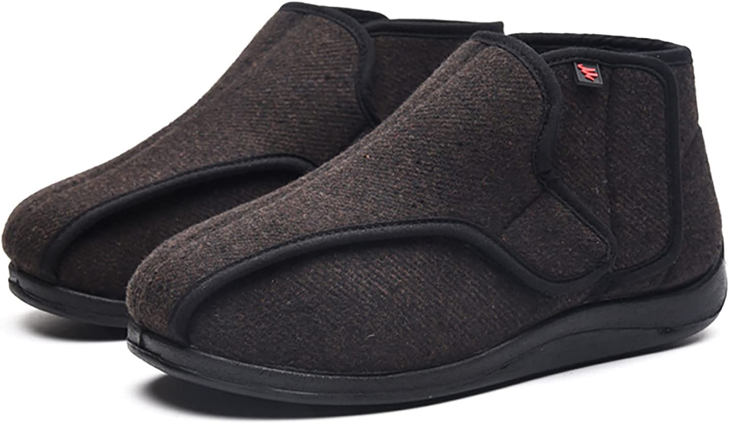 Unisex Diabetic latest Boots Adjustable Velcro Orth Jacksonville Mall Elderly Cloth Shoes