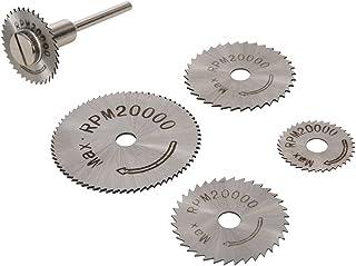 Silverline 289305 Discos de corte de HSS, Plata, Set de 6 Piezas