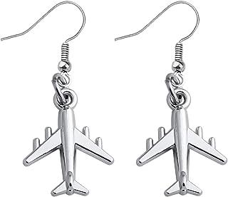 Plane Earrings Dangle Plane Jewellery Bon Voyage Card Break Up Gifts Funny Earrings Novelty Earrings Travel Gift Funny Gifts Cactus