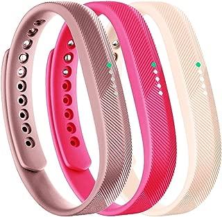 Molitec for Fitbit Flex 2 Band, Bracelet Strap Replacement Band for Fitbit Flex 2