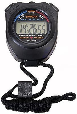 Deepak Enterprise Digital Pocket Sports Stop Watch, Pro Trainer