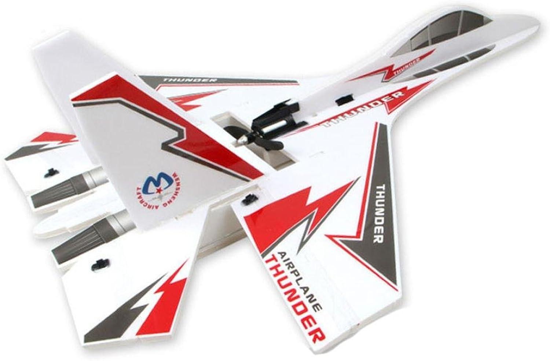 Hunpta KT SU-27 Flugzeug Jet 6CH RC Fighter Schaum Segelflugzeug Kits (Wei)