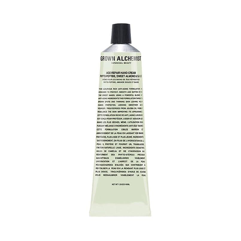パキスタンレベルフォアマンGrown Alchemist Age-Repair Hand Cream - Phyto-Peptide, Sweet Almond & Sage 40ml/1.35oz並行輸入品