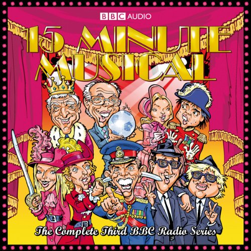15 Minute Musical, Series 3 audiobook cover art