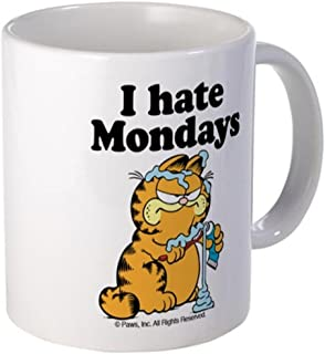 11 ounce Mug - I Hate Mondays Mug - S White