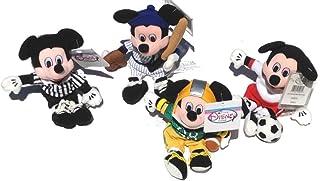 Sports Mickey Mouse Plush Set