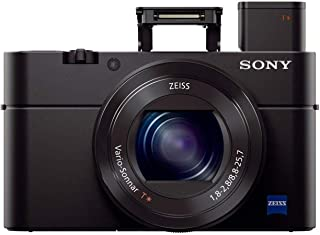 Sony Cybershot DSC-RX100M3 20.1MP Digital Camera with Bag (Black)