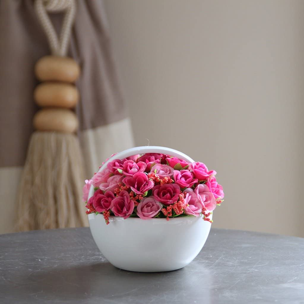 All stores are sold QUETW Artificial shipfree Flowers Ceramic Fake Flower
