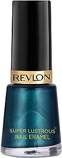 Revlon Nail Enamel, Peacock Blue, 8ml