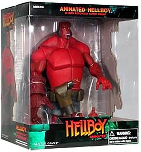 punto de venta en línea Gentle Giant Figura Gigante de Hellboy rojoocast Smirk Variant Animada Animada Animada  echa un vistazo a los más baratos