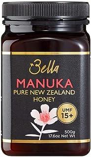 Bella New Zealand Manuka Honey Certified UMF 15+ (MGO 515) | 500g | Raw Premium 100% New Zealand Manuka Honey | Nature's S...