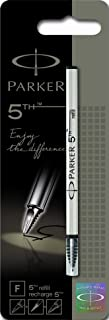 Parker 5th refill for Parker 5th Technology Ink Pens, Fine point, Black ink, 1 unit per pack (S0958790)