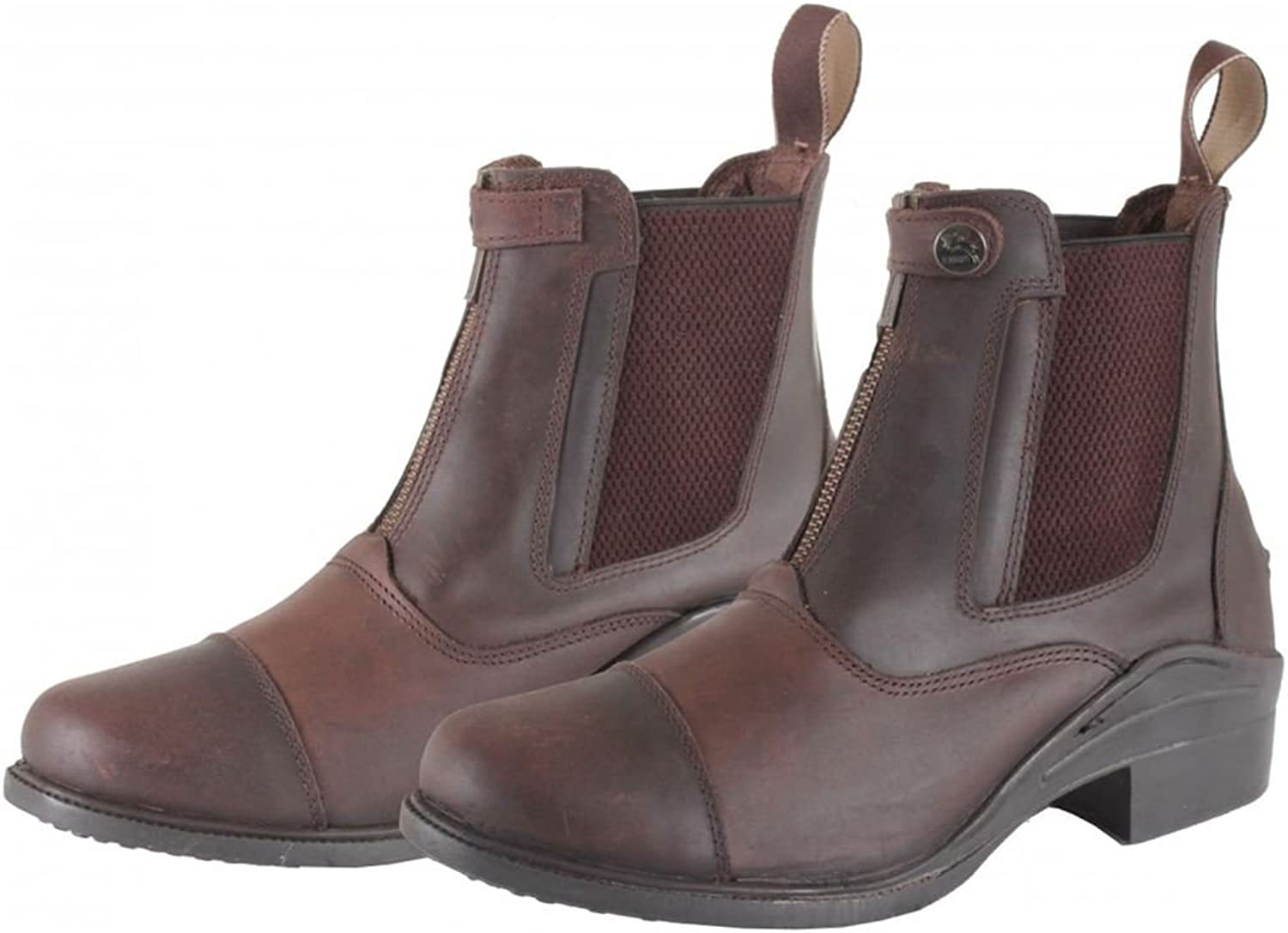 Horka Ladies Stable Dena Jodhpur Sneaker Laces & Fur lining Horse Riding Boots