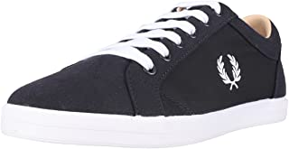 Fred Perry Baseline Poly Mens Trainers Navy White - 7 UK
