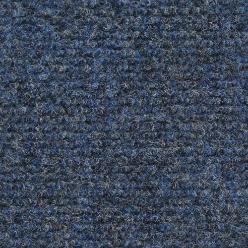 House, Home and More Indoor Outdoor Carpet with Rubber Marine Backing - Blue - 6...