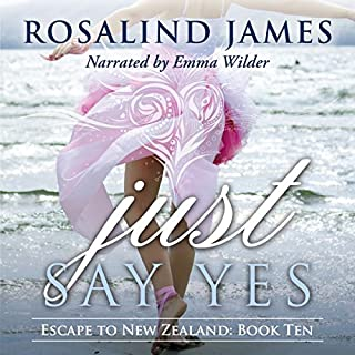Just Say Yes audiobook cover art