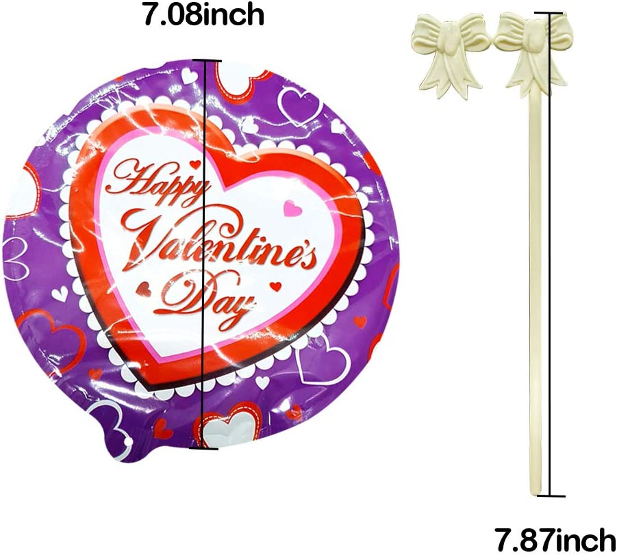 Self Inflating Colorful Design Science Kit for New Year Eve Party Halloween Party Decoration Supplies 10 Packs, Halloween BAR AUTOTECH Small Round Foil Party Decorations Balloons with Sticks