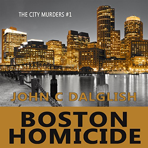 Boston Homicide: A Clean Suspense Mystery audiobook cover art