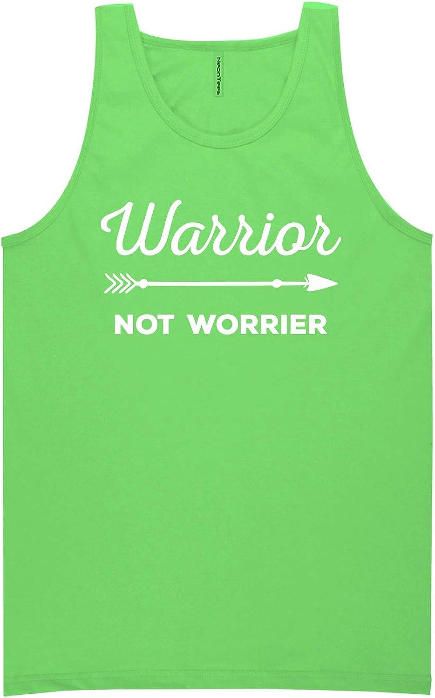 Warrior Not Worrier Neon Tank Top