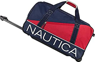 Nautica Wheeled Duffle Travel Rolling Lightweight Luggage Bags Duffel