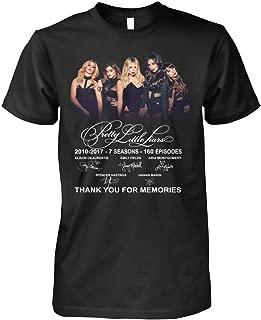 Linktee pre-tty signatures 7 lit-tle Seasons Thank You li-ars for Memories Shirt