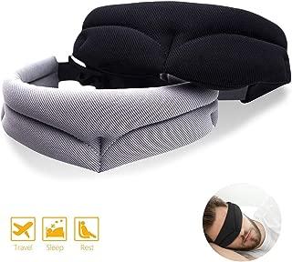 M/áscara Agradable para Mujeres y Hombres EURhine Antifaz para Dormir Antifaces Seda Anti-Luz C/ómoda