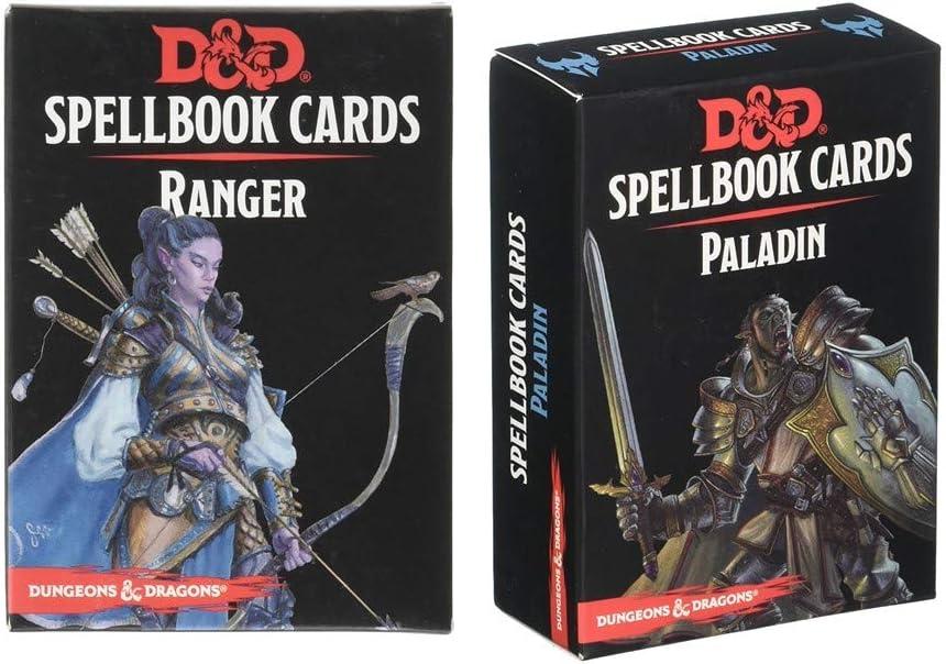 DUNGEONS /& DRAGONS PALADIN DECK 73919 SPELLBOOK CARDS