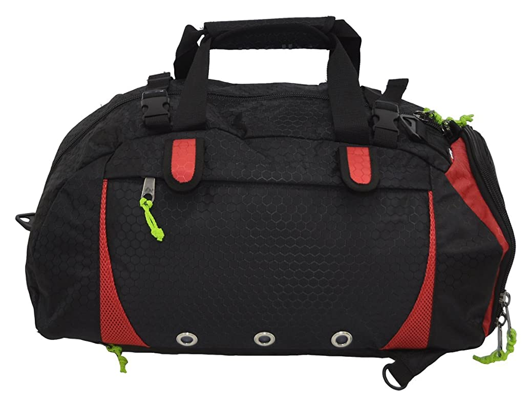 Amaro Warzone Multi-Purpose Travel Duffel Backpack Luggage Gym Sports Bag with Shoe Compartment