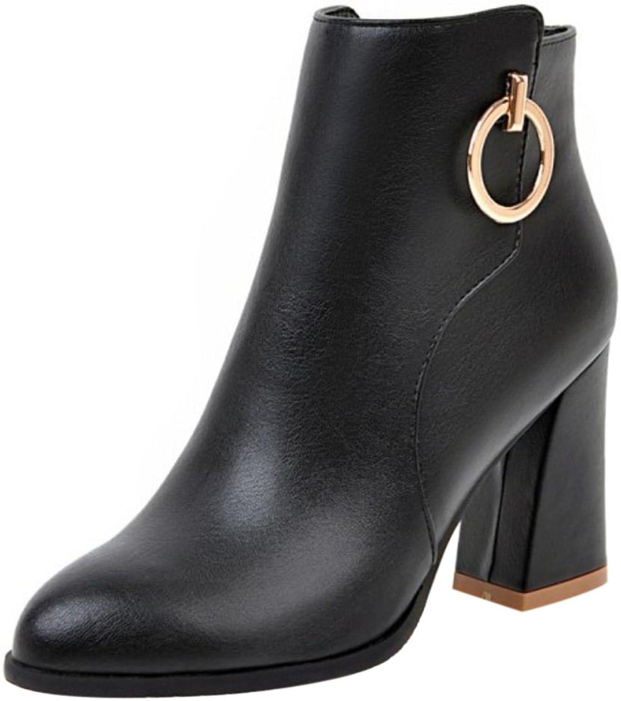 FizaiZifai Women Autumn Fashion Ankle Boots